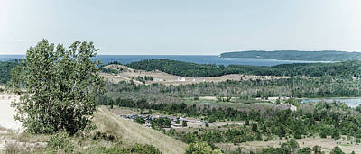 Art Print featuring the photograph Sleeping Bear Dunes National Lakeshore by Alexey Stiop