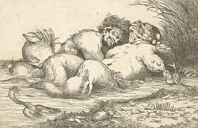 Relief - Sleeping Monsters by John Hamilton Mortimer