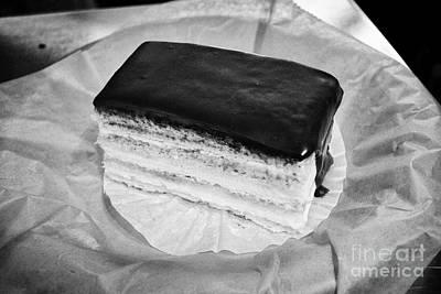 slice of Boston cream pie USA Art Print
