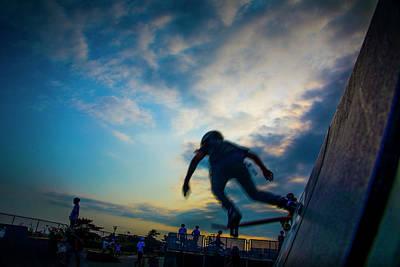 Photograph - Slick Trick by Steve Gravano