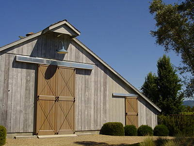 Hardware Drawing - Sliding Barn Doors by Sue Niemeic