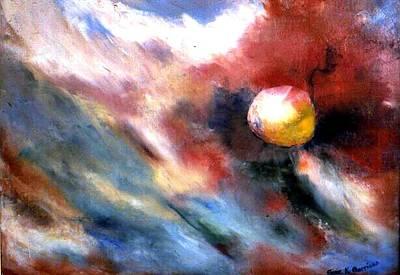 Small Planet Art Print by Gene Garrison