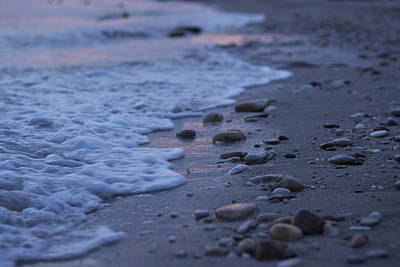 Photograph - Small Stones On The Beach by Newnow Photography By Vera Cepic