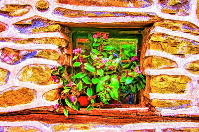 Photograph - Small Window by Rick Bragan
