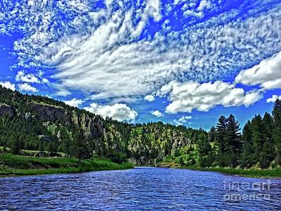 Photograph - Smith River Montana by Joseph J Stevens