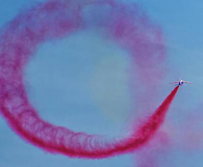 Aviation Display Photograph - Smoke On by Martin Newman