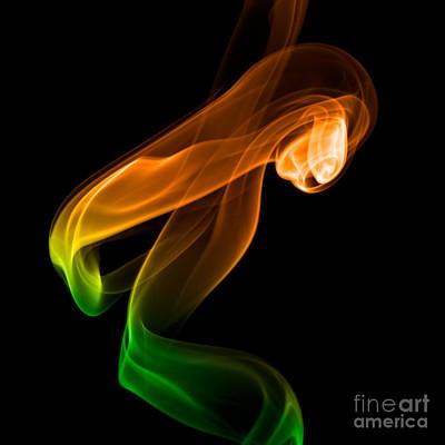 smoke XIV Art Print