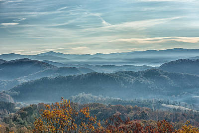 Photograph - Smoky Mountain Sunrise by Victor Culpepper