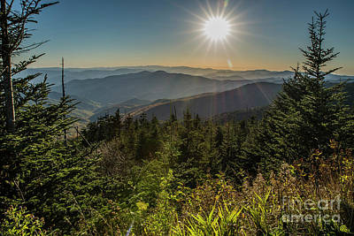 Photograph - Smoky Mountain View by Patrick Shupert