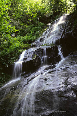 Photograph - Smoky Mountain Waterfall by Roy Kastning