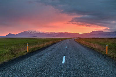 Snaefellsnes Peninsula - Iceland Art Print