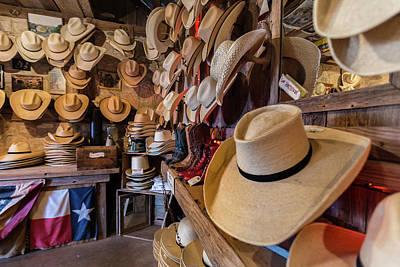 Photograph - Snail Creek Hat Company by Tim Stanley