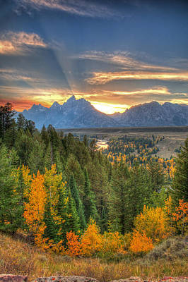 Photograph - Snake River Sunset by Steve Stuller