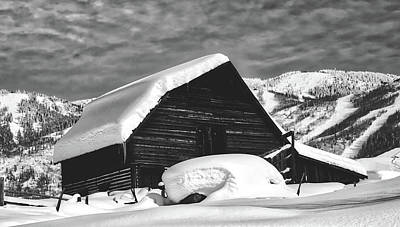 Photograph - Snow Day On The Farm by Loc