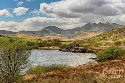 Photograph - Snowdon Horseshoe by Adrian Evans