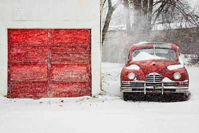 Snowed In Art Print by Todd Klassy