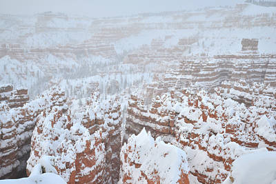 Photograph - Snowy Silent City by Ray Mathis