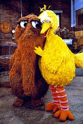 Photograph - Snuffleupagus by Sesame Street