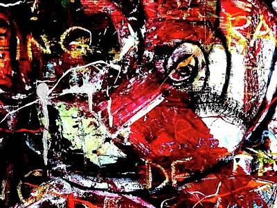 Robert Daniels Painting - Social Issues by Robert Daniels