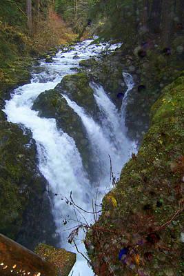 Photograph - Sol Duc Falls by Lynn Bawden
