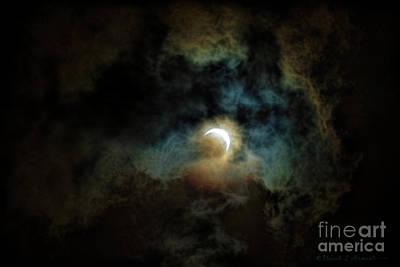Photograph - Solar Eclipse 2017 by David Arment