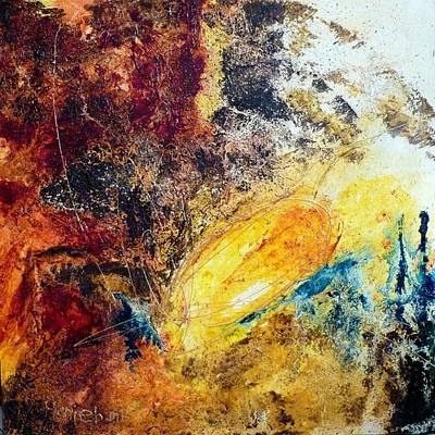 Mohammad Painting - Solar by Hanieh Mohammad Bagher