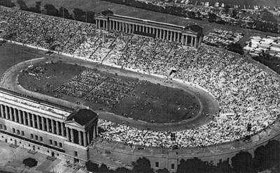 Bh History Photograph - Soldier Field, Chicago, Illinois, Circa by Everett