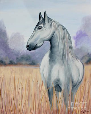 Painting - Solemn Spirit by Stacey Zimmerman