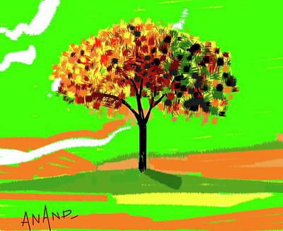 Digital Art - Solitude by Anand Swaroop Manchiraju