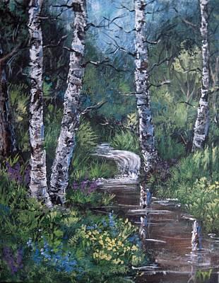 Painting - Solitude by Megan Walsh
