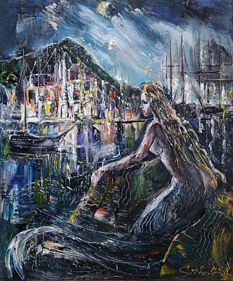 Painting - Solitude by Stefano Popovski