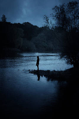 Sombre Photograph - Solitude by Cambion Art