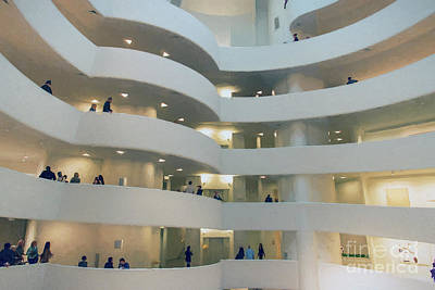 Photograph - Solomon R. Guggenheim Museum by David Oppenheimer