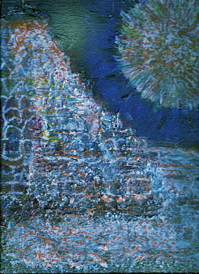 Somewhere On Jupiter Art Print by Anne-Elizabeth Whiteway