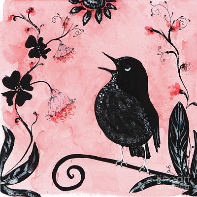 Painting - Song Bird by Lynne Furrer