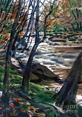 Sope Creek Two Original by Donald Maier