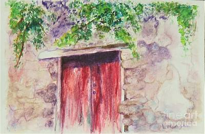 Painting - Sorrento Secret by Laurie Morgan