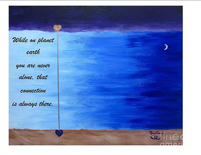 Painting - Soul Full - Spiritual Art Poster With A Message by Pat Heydlauff