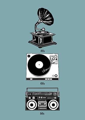 Digital Art - Sound Evolution by Bekim Art