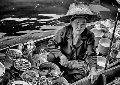Photograph - Soup Lady by Stephen Stookey