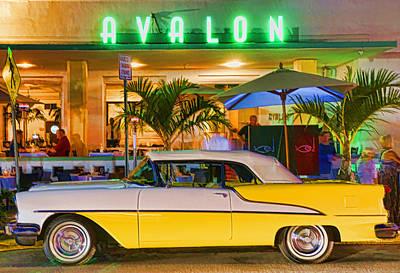 South Beach Classic Art Print by Dennis Cox WorldViews