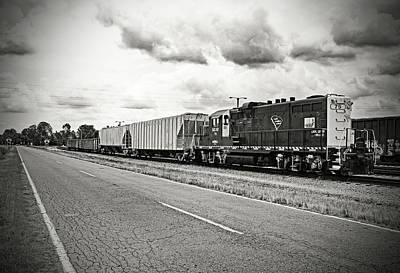 Photograph - South Carolina Central Gp10 #75 by Joseph C Hinson Photography