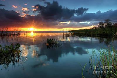 Photograph - South Florida Sunset by Rick Mann