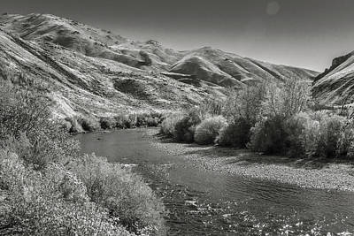Photograph - South Fork Boise River by Mark Mille