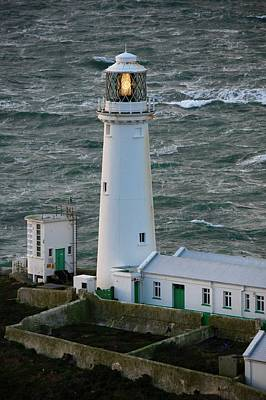 Photograph - South Stack Lighthouse by Robert Phelan