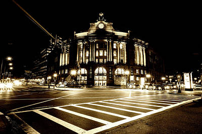 Atlantic Avenue Photograph - South Street Station Boston by Unsplash - Osman Rana
