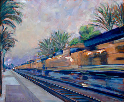 Painting - Southern Pacific by Richard Willson