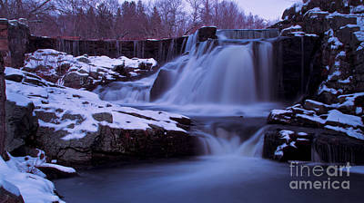 Photograph - Southford Falls State Park. by New England Photography