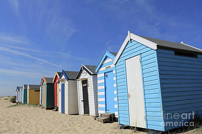 Southwold Beach Huts Art Print