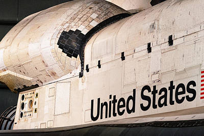 Photograph - Space Shuttle Endeavour by Celso Diniz